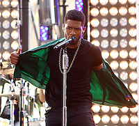 May 18, 2012 Usher performs at The NBC Today Show Concert Series in New York City. Credit: RW/MediaPunch Inc.