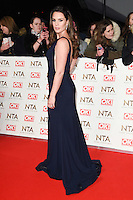 Danielle Lloyd at the National TV Awards 2017 held at the O2 Arena, Greenwich, London. <br /> 25th January  2017<br /> Picture: Steve Vas/Featureflash/SilverHub 0208 004 5359 sales@silverhubmedia.com