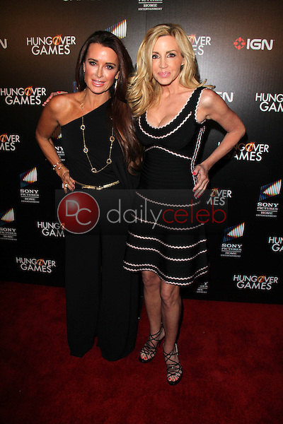 Kyle Richards, Camille Grammer<br />