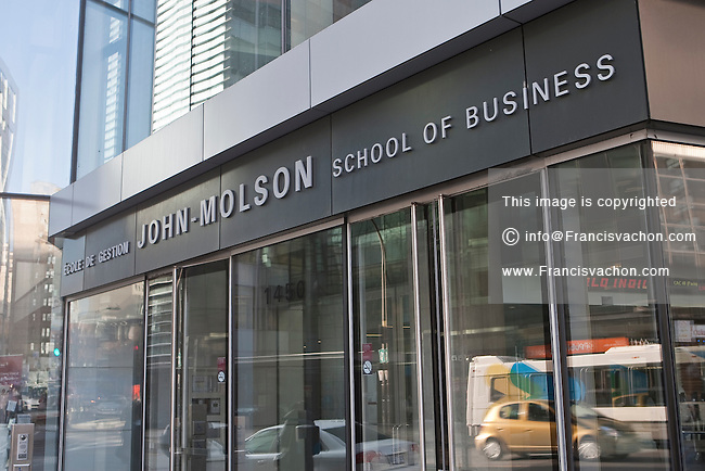 Concordia University's John Molson School of Business is pictured in Montreal Friday October 26, 2012. The John Molson School of Business (JMSB) is the business school of Concordia University in Montreal.