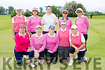The Kenmare team that played in the ILGU competition in Beaufort on Monday front row l-r: Danielle Froment, Noreen Crowley, Angela Brosnan, Christina Foley, Kathleen O'Shea. Back row: Stephanie Gaine, Delia Long, Clara Brosnan, Marianne Kloop and Brenda Holden