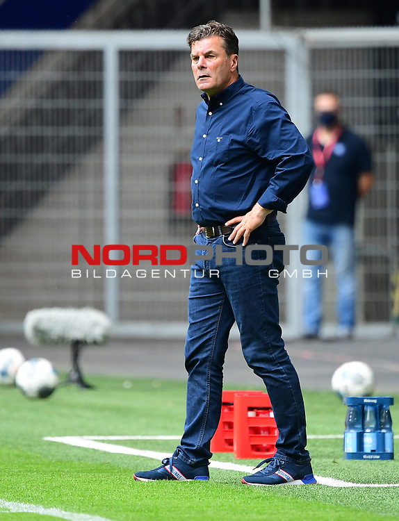 Trainer Dieter Hecking (HSV)<br />
