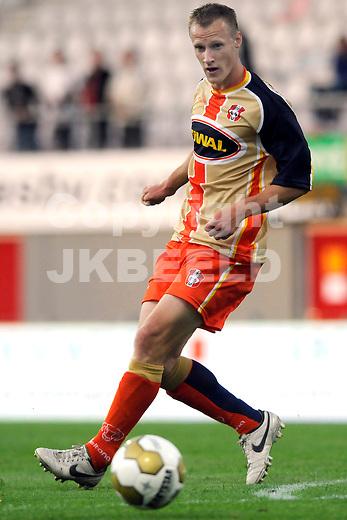 EMMEN - Voetbal, FC Emmen - FC Dordrecht, Jupiler League, Unive stadion, seizoen 2011-2012, 12-08-2011FC Dordrecht speler  Wilmer Kousemaker.