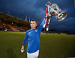 Stephen Chatterton with the Glasgow Cup