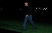 United States President Barack Obama returns to the White House in Washington, DC on November 16, 2014.  <br /> Credit: Dennis Brack / Pool via CNP