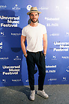 Spanish actor Alfonso Bassave during the photocall of Jamie Cullum's concert in the Universal Music Festival 2019. July 22, 2019. (ALTERPHOTOS/Acero)