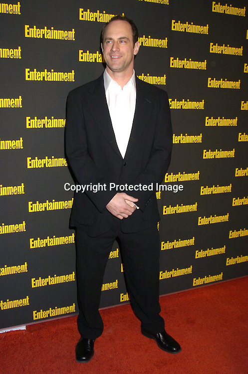 Christopher Meloni ..at the 11th Annual Entertainment Weekly Oscar Party on ..Februaty 27, 2005 at Elaine's in New York City. ..Photo by Robin Platzer, Twin Images
