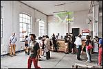 Inaugurazione di BUNKER, Il nuovo progetto di Urbe nell'ex stabilimento SICMA Torino. Luglio 2012