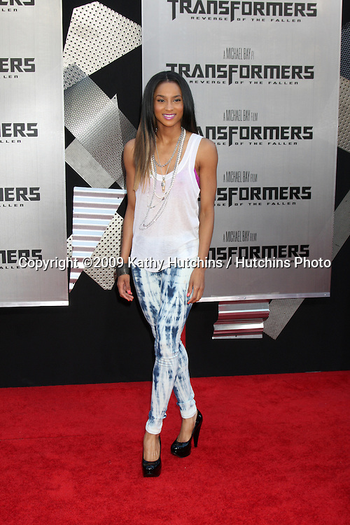 """Ciara arriving at the """"Transformers: Revenge of the Fallen"""" Premiere at the Mann's Village Theater in Westwood, CA  on June 22, 2009.  .©2009 Kathy Hutchins / Hutchins Photo"""