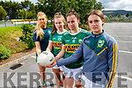 Kerry Ladies Gaelic football players are annoyed that will only have one game at Minor level in Munster as LGFA will not hold an All Ireland Minor competition this year and they are in the last year of minor age. L to r: Ellie McElligott (Ballymac), Mary Collins (Rathmore), Danielle O'Leary (Rathmore) and Cora Savage (Ballymac)