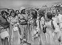 Iraq 1972 .The Federation of Women of Kurdistan visiting Mustafa Barzani in Nawperdan  .Irak 1972 .La federation des femmes du Kurdistan rendant visite au general Barzani a Nawperdan