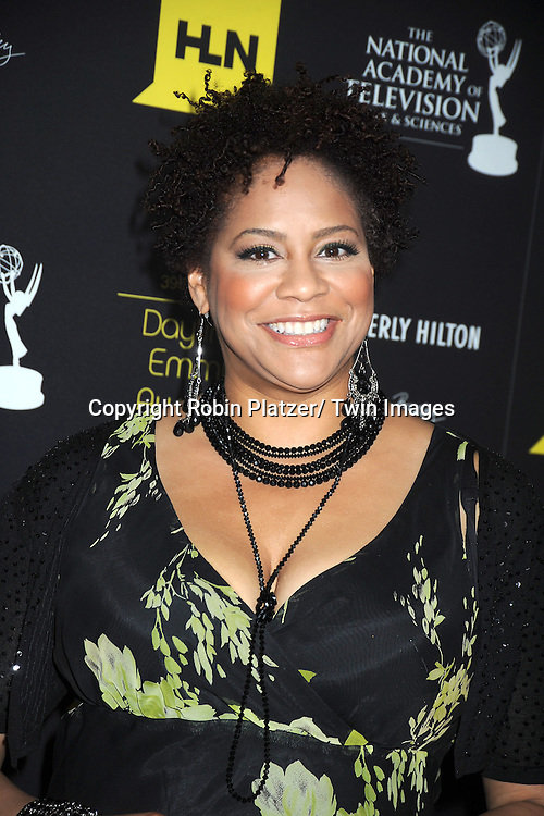 Kim Coles attends the 39th Annual Daytime Emmy Awards on June 23, 2012 at the Beverly Hilton in Beverly Hills, California. The awards were broadcast on HLN.