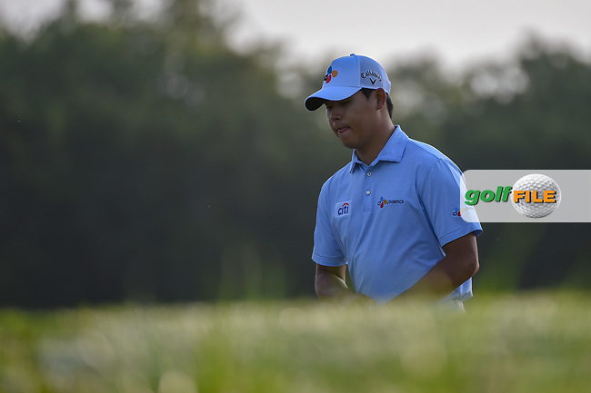 Si Woo Kim (KOR) approaches the tee on 11 during day 1 of the Valero Texas Open, at the TPC San Antonio Oaks Course, San Antonio, Texas, USA. 4/4/2019.<br /> Picture: Golffile   Ken Murray<br /> <br /> <br /> All photo usage must carry mandatory copyright credit (© Golffile   Ken Murray)