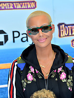"Amber Rose at the world premiere for ""Hotel Transylvania 3: Summer Vacation"" at the Regency Village Theatre, Los Angeles, USA 30 June 2018<br /> Picture: Paul Smith/Featureflash/SilverHub 0208 004 5359 sales@silverhubmedia.com"