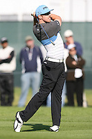 02/19/12 Pacific Palisades: Hunter Mahan during the fourth round of the Northern Trust Open held at the Riviera Country Club