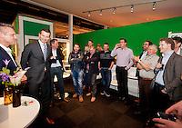 Februari 12, 2015, Netherlands, Rotterdam, Ahoy, ABN AMRO World Tennis Tournament, Richard Krajicek (NED)<br /> Photo: Tennisimages/Henk Koster