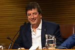 Horacio Tato Turano during the press conference of Les Luthiers, Viejos Hazmerreires. September 16, 2019. (ALTERPHOTOS/Johana Hernandez)