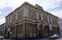 "Fremantle: Bank of New South Wales, 1891. Sir J.J. Talbot Hobbs. Former Western Australia Bank, ""grandiose Italianate Renaissance""."