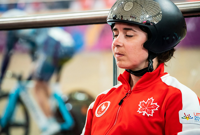 Lima, Peru -  26/August/2019 - Marie-Claude Molnar competes in the women's 500m time trial at the Parapan Am Games in Lima, Peru. Photo: Dave Holland/Canadian Paralympic Committee.