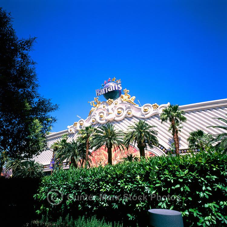 Las Vegas, Nevada, USA - Harrah's Las Vegas Hotel and Casino along The Strip (Las Vegas Boulevard)