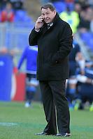 Steve Hansen, All Blacks coach.<br /> Roma 12/11/2016, Stadio Olimpico<br /> Test Match 2016<br /> Italia vs All Blacks - Italy vs All Black (New Zeland)<br /> Foto Antonietta Baldassarre / Insidefoto