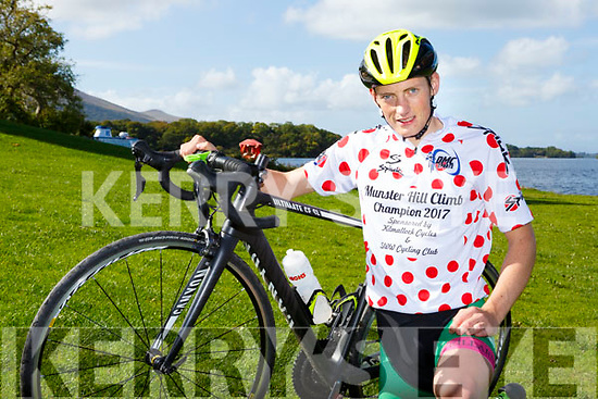 Conor Kissane Killarney CC who won the Munster Hill Climb championship in Killmallock last Sunday