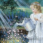 Dona Gelsinger, CHILDREN, paintings(USGEDW6,#K#) Kinder, niños, illustrations, pinturas ,everyday