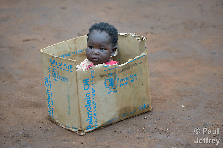 Four-month old Haida Majzub was born in the Ajuong Thok refugee camp inside South Sudan. The camp, in northern Unity State, hosts thousands of refugees from the Nuba Mountains, located across the nearby border with Sudan. The ACT Alliance provides a variety of services in the camp.