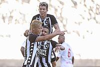 Rio de Janeiro (RJ), 15/03/2020 - Botafogo-Bangu - Keisuke Honda comemora gol. Partida entre Botafogo e Bangu valida pela terceira rodada da Taca Rio, realizada no Estadio Nilton Santos (Engenhao), no Rio de Janeiro, neste domingo (15). (Foto: Andre Fabiano/Codigo 19/Codigo 19)