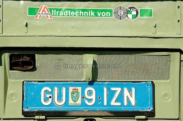 Austria, Boesenstein Offroad Classic, Hohentauern, Steiermark, 25-26.06.2005. Steyr Puch Haflinger, Registration GU91IZN. --- No releases available. Automotive trademarks are the property of the trademark holder, authorization may be needed for some uses.