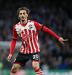 Southampton's Manolo Gabbiadini in action during the Premier League match at Stamford Bridge Stadium, London. Picture date: April 25th, 2017. Pic credit should read: David Klein/Sportimage