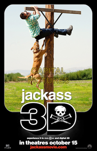 POSTER ART .in Jackass 3D .*Filmstill - Editorial Use Only*.CAP/FB.Supplied by Capital Pictures.