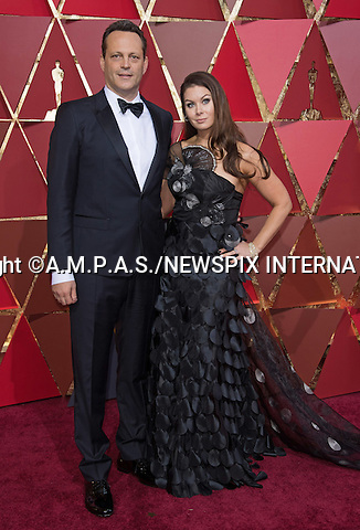 26.02.2017; Hollywood, USA: VINCE VAUGHN<br /> attends The 89th Annual Academy Awards at the Dolby&reg; Theatre in Hollywood.<br /> Mandatory Photo Credit: &copy;AMPAS/NEWSPIX INTERNATIONAL<br /> <br /> IMMEDIATE CONFIRMATION OF USAGE REQUIRED:<br /> Newspix International, 31 Chinnery Hill, Bishop's Stortford, ENGLAND CM23 3PS<br /> Tel:+441279 324672  ; Fax: +441279656877<br /> Mobile:  07775681153<br /> e-mail: info@newspixinternational.co.uk<br /> Usage Implies Acceptance of Our Terms &amp; Conditions<br /> Please refer to usage terms. All Fees Payable To Newspix International