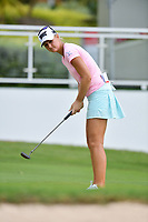 PATTAYA, THAILAND - FEBRUARY 22: Anna Nordqvist of Sweden on the 18th green during the second round of the Honda LPGA Thailand 2019 at Siam Country Club Pattaya (Old Course), Pattaya, Thailand on February 22, 2019.<br /> .<br /> .<br /> .<br /> (Photo by: Naratip Golf Srisupab/SEALs Sports Images)<br /> .<br /> Any image use must include a mandatory credit line adjacent to the content which should read: Naratip Golf Srisupab/SEALs Sports Images