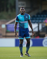 Aaron Pierre of Wycombe Wanderers during the Sky Bet League 2 match between Wycombe Wanderers and Accrington Stanley at Adams Park, High Wycombe, England on 16 August 2016. Photo by Andy Rowland.