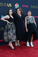 "LOS ANGELES - SEP 26:  Hannah Zeile, Chrissy Metz, Mackenzie Hancsicsak at the ""This Is Us"" Season 2 Premiere Red Carpet at the Neuehouse Hollywood on September 26, 2017 in Los Angeles, CA"