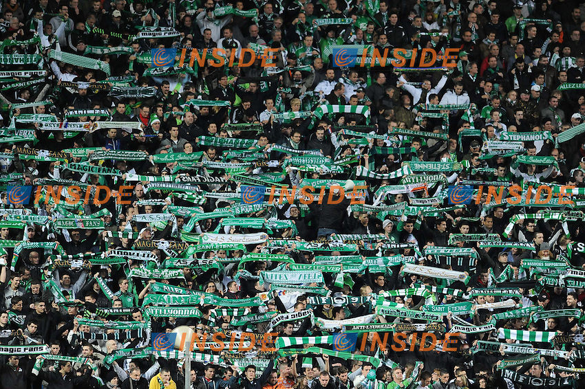 Supporters (saint etienne)   .Football Calcio 2012/2013.Ligue 1 Francia.Foto Panoramic / Insidefoto .ITALY ONLY