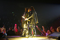 Steve Tyler,  Joe perry and Aerosmith in Cncert
