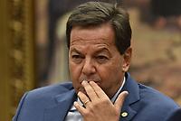 BRASÍLIA, DF, 12.07.2017 - CCJ-CÂMARA - O deputado Sérgio Zveiter, relator do processo durante sessão na CCJ da Câmara dos Deputados que discute o relatório que indicou a continuidade do processo do presidente Michel Temer, nesta quarta-feira, 12, na Câmara dos Deputados. (Foto: Ricardo Botelho/Brazil Photo Press)