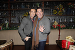LOS ANGELES - DEC11: Scott Nevins, Ross Mathews at Scott Nevins Presents SPARKLE: An All-Star Holiday Concert to benefit The Actors Fund at Rockwell Table & Stage on December 11, 2014 in Los Angeles, California