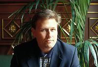 Milan, Italy, 2001. David Baldacci Ford, American writer.