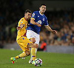 Gareth Barry of Everton during the Premier League match at Goodison Park Stadium, Liverpool. Picture date: September 30th, 2016. Pic Simon Bellis/Sportimage