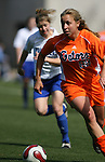 Florida's Shelley Lyle on Saturday, March 3rd, 2007 on Field 1 at SAS Soccer Park in Cary, North Carolina. The University of Florida Gators played the Duke University Blue Devils in an NCAA Division I Women's Soccer spring game.