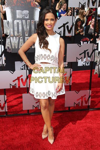 LOS ANGELES, CA - APRIL 13: Rocsi Diaz at the 2014 MTV Movie Awards at Nokia Theatre L.A. Live on April 13, 2014 in Los Angeles, California. <br /> CAP/MPI/JO<br /> &copy;Janice Ogata/MPI/Capital Pictures