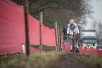 Wout Van Aert (BEL/Crelan-Vastgoedservice)<br /> <br /> 2016 CX UCI World Cup Zeven (DEU)
