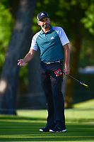 Sergio Garcia (ESP) watches his putt on 10 during the round 1 of the Dean &amp; Deluca Invitational, at The Colonial, Ft. Worth, Texas, USA. 5/25/2017.<br /> Picture: Golffile | Ken Murray<br /> <br /> <br /> All photo usage must carry mandatory copyright credit (&copy; Golffile | Ken Murray)