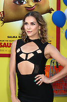 "Allison Holker<br /> at the ""Sausage Party"" Premiere, Village Theater, Westwood, CA 08-09-16<br /> David Edwards/DailyCeleb.com 818-249-4998"
