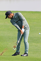 Subhankar Sharma (IND) in action during the third round of the Volvo China Open played at Topwin Golf and Country Club, Huairou, Beijing, China 26-29 April 2018.<br /> 28/04/2018.<br /> Picture: Golffile | Phil Inglis<br /> <br /> <br /> All photo usage must carry mandatory copyright credit (&copy; Golffile | Phil Inglis)