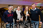 Enjoying the Brides and Grooms Bridal Recognition Day at Ballygarry House Hotel on Sunday were Donal O'Leary, Maria Kelly, Mairi Ni chaghansigh, Dan Cronin