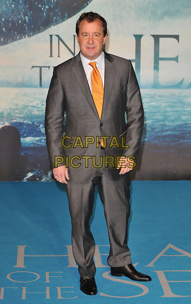 Will Ward attends the &quot;In The Heart Of The Sea&quot; European film premiere, Empire cinema, Leicester Square, London, UK, on Wednesday 02 December 2015.<br /> CAP/CAN<br /> &copy;CAN/Capital Pictures